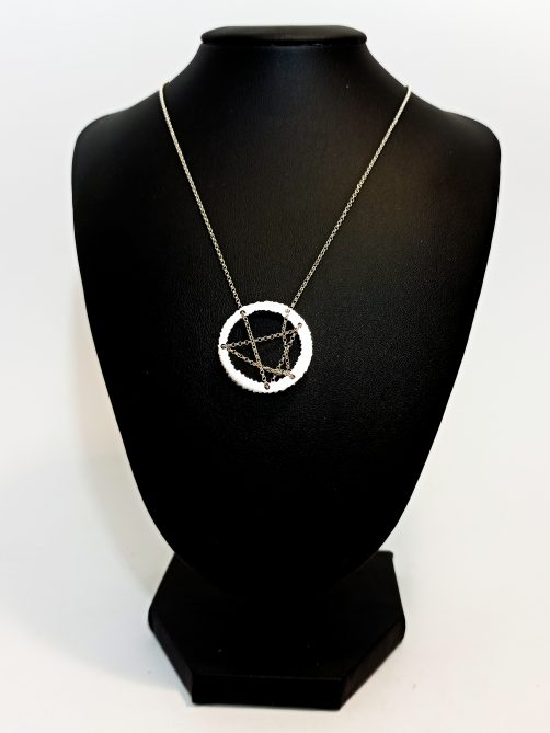 Collier inspiration Soulages dawn_joaillerie
